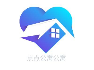 上海点点公寓公寓企业标志设计