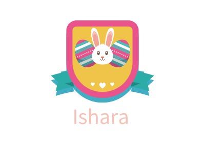 Ishara店铺标志设计