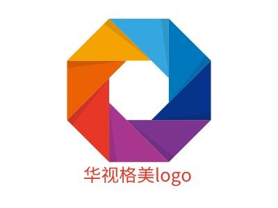 华视格美logo公司logo设计