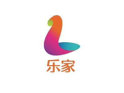 乐家logo标志设计