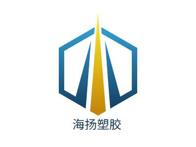 海扬塑胶企业标志设计