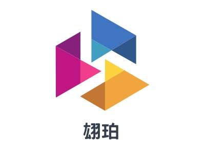 翃珀公司logo设计