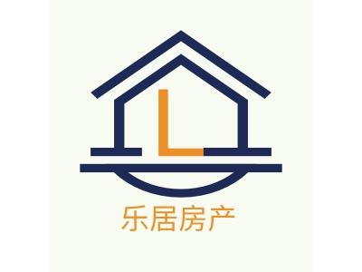 乐居房产企业标志设计