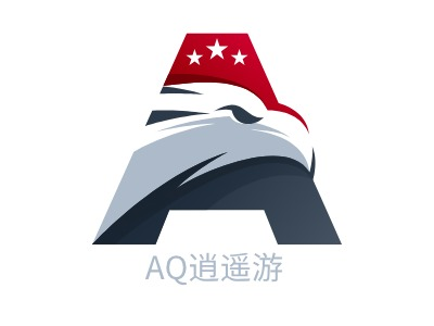 AQ逍遥游公司logo设计