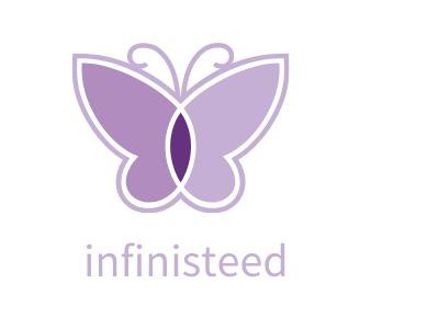 infinisteed门店logo设计