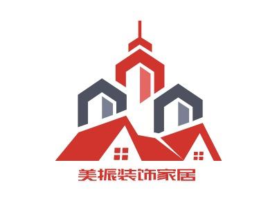 美振装饰家居企业标志设计