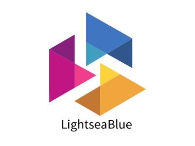 LightseaBlue公司logo设计