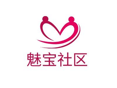 魅宝社区公司logo设计
