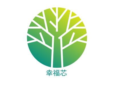 上海幸福�酒笠�标志设计