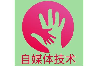 自media技术公司logo设计