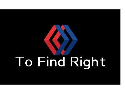 To Find Right公司logo设计