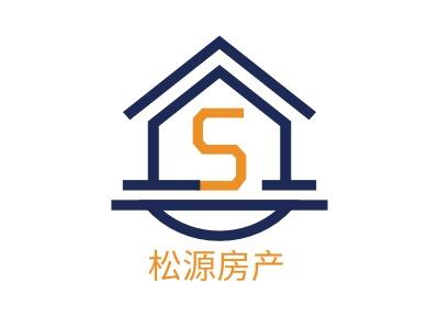 松源房产企业标志设计