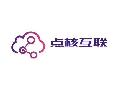 点核互联公司logo设计