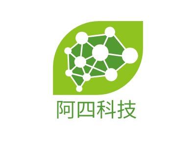 阿四科技公司logo设计