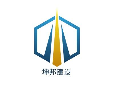 坤邦建设企业标志设计