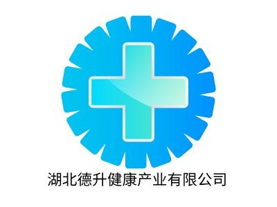 湖北德升健康产业有限公司门店logo标志设计