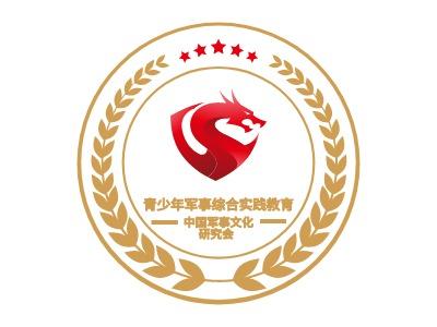 青少年军事综合实践教育管理指导officelogo标志设计