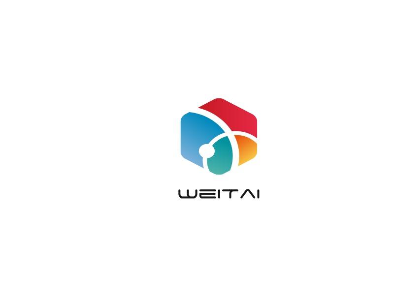 WeiTai公司logo设计