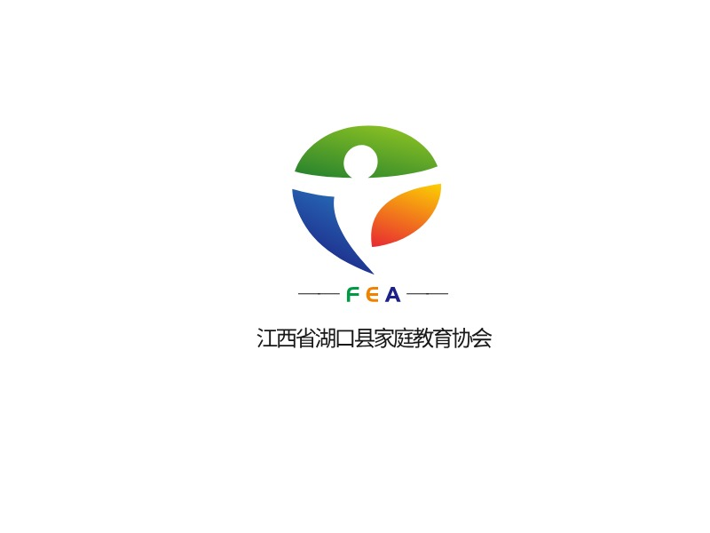 ——FEA—— 江西省湖口县家庭教育协会logo标志设计