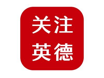 关注英德公司logo设计