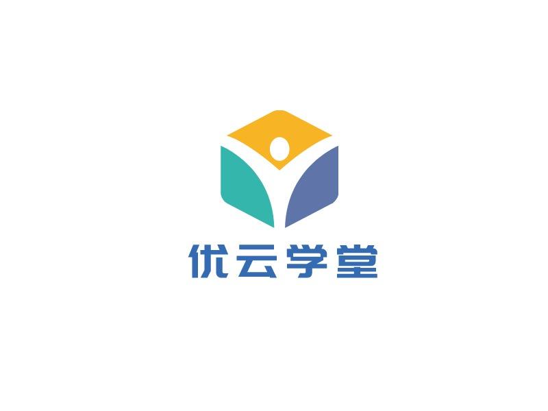 优云学堂logo标志设计