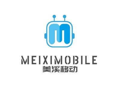 美溪移动公司logo设计