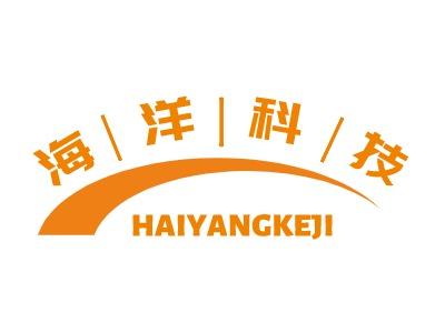 海洋科技logo标志设计