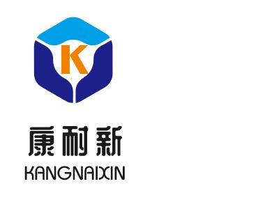 康耐新logo标志设计