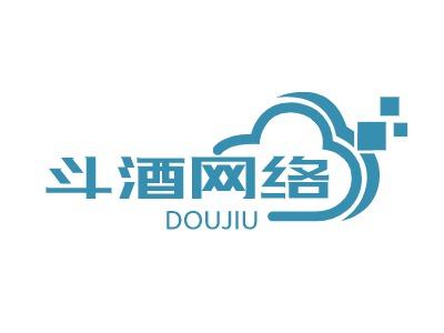 斗酒network公司logo设计
