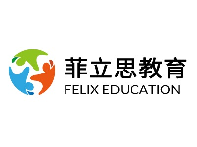 菲立思教育logo标志设计