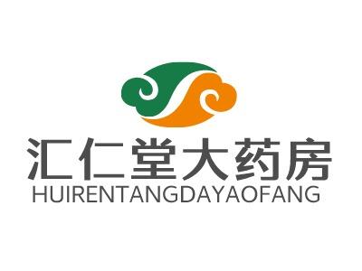 汇仁堂大药房门店logo设计