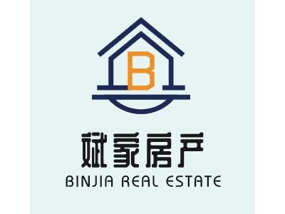斌家房产企业标志设计
