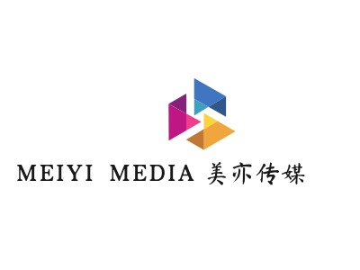 美亦传媒logo标志设计