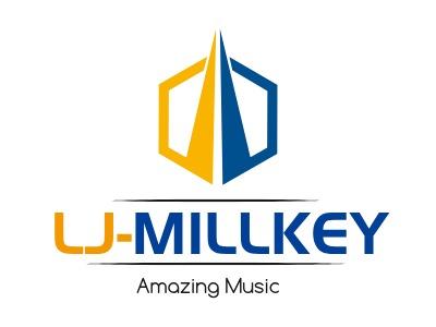 LJ-MILLKEY公司logo设计