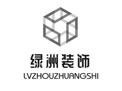 绿洲装饰企业标志设计
