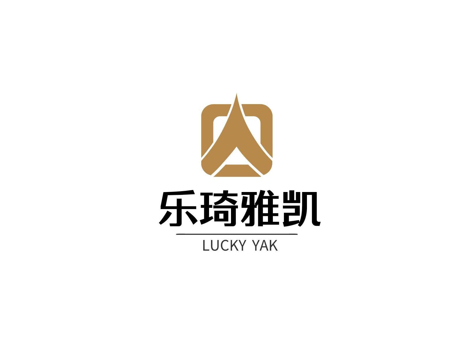 乐琦雅凯logo标志设计