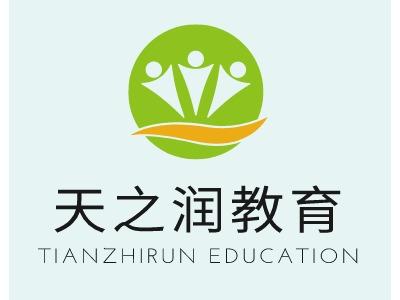 天之润教育logo标志设计