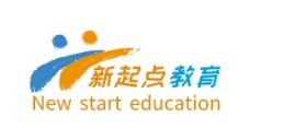 阳江新起点教育logo标志设计
