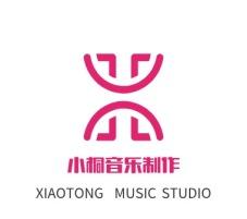 合肥小桐音乐制作logo标志设计