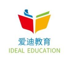 惠州爱迪教育logo标志设计