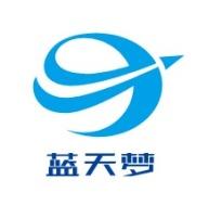 阳江蓝天梦logo标志设计
