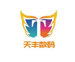 上海天丰数码公司logo设计