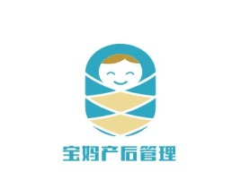 宝妈产后管理门店logo设计