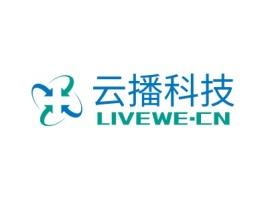 合肥云播科技公司logo设计