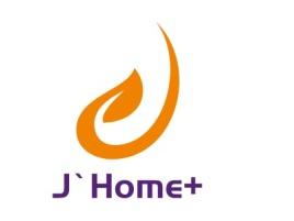 武汉J`Home+企业标志设计