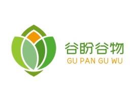 谷盼谷物品牌logo设计