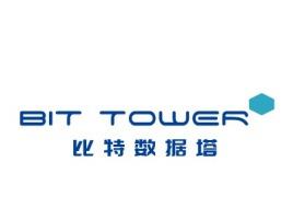大连比特数据塔公司logo设计