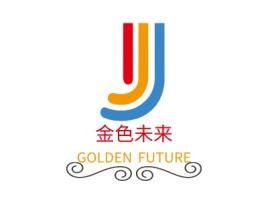 揭阳金色未来logo标志设计