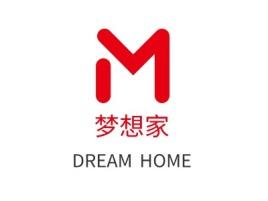 武汉梦想家门店logo设计