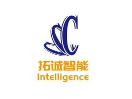 青岛拓诚智能公司logo设计